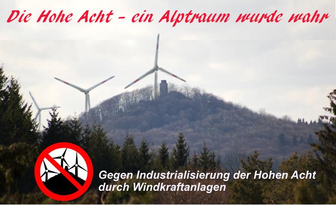 Windkraft hohe